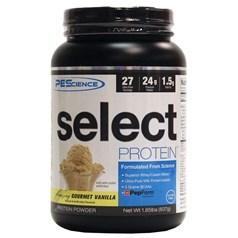 PEScience牌Select蛋白系列混合酪蛋白乳清蛋白粉 香草味 837克 26次用量图片