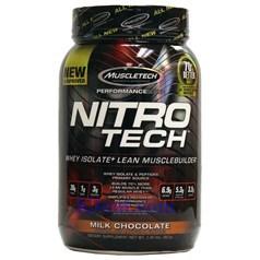 Muscletech牌Performance优品系列高性能正氮增肌分离蛋白粉 巧克力味 907克 21次用量图片