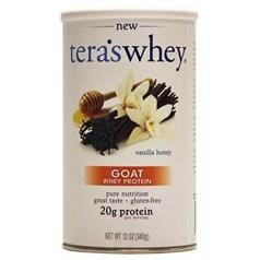 Tera's Whey 牌羊奶乳清蛋白粉 香草蜂蜜味 340克 12份用量图片