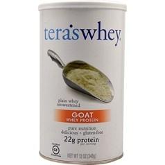 Tera's Whey 牌羊奶乳清蛋白粉 原味 340克 12份用量图片