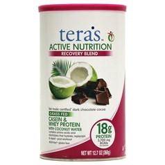 Tera's Whey牌Active Nutrition活性化营养系列酪蛋白乳清蛋白混合配方 巧克力味 360克 12份用量图片