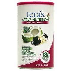 Tera's Whey牌Active Nutrition活性化营养系列酪蛋白乳清蛋白混合配方 香草味 360克 12份用量图片